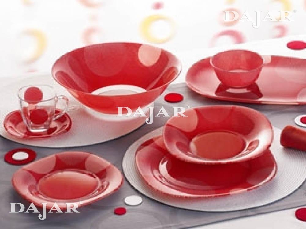 Tafelservice constellation 18 tlg luminarc ebay for Service de table rouge