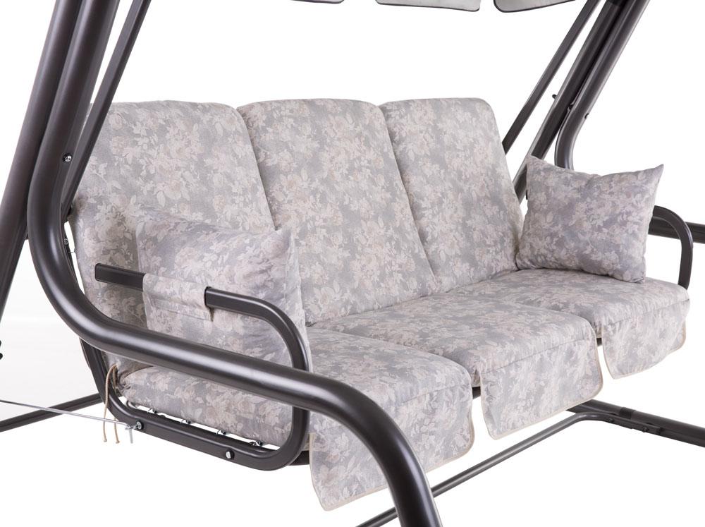 auflagenset f r 3 sitzer hollywoodschaukel rimini venezia a078 06lb patio eur 90 20 picclick it. Black Bedroom Furniture Sets. Home Design Ideas